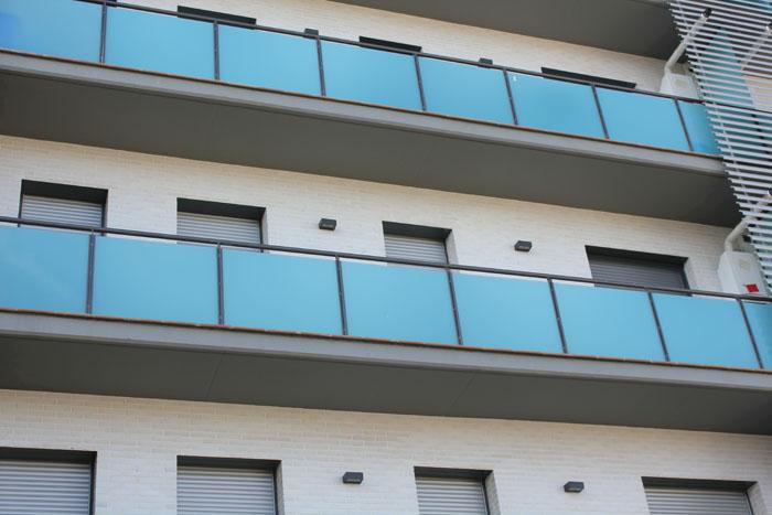 Balcones Hierro y cristal