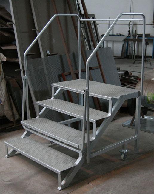 Escaleras hierro for Escalera hierro