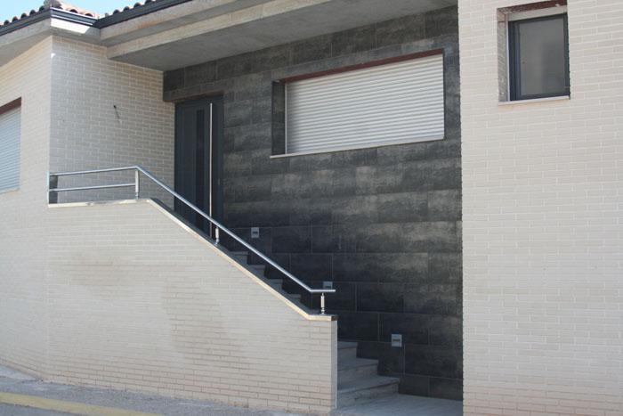 Barandillas acero inoxidable - Pasamanos de acero inoxidable para escaleras ...